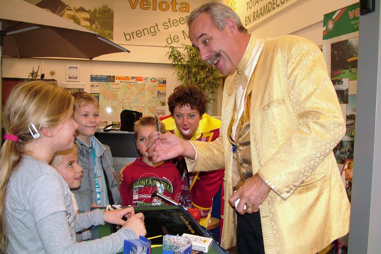 kinder goochelshow - henk romeijn