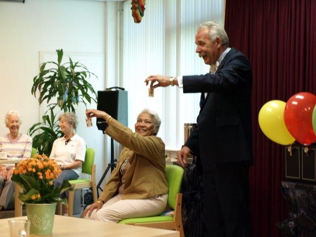 Senioren goochelshow